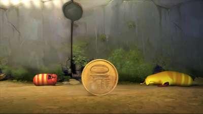 爆笑虫子 036 扔硬币