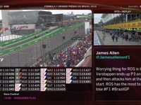 F1巴西站排位赛全场回放(维修站)