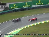 F1巴西站正赛:阿隆索维特尔抢位置