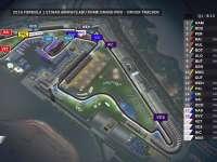 F1阿布扎比站排位赛全场回放(GPS追踪)