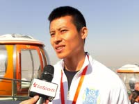 陈志钊登顶广州塔才刚出汗 愿明年助广州富力进亚冠