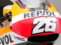 MotoGP本田车队2017款赛车高清细节展示