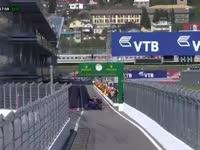 Q1起表!F1俄罗斯站排位赛 科维亚特主场率先驶出赛道
