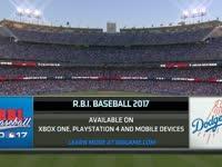 MLB2017赛季常规赛 马林鱼VS道奇 英文全场录播