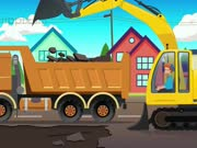 Construction Vehicles for Kids with Blippi - The Excavator Song