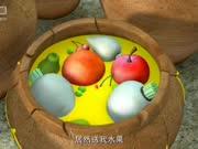 熊大熊二送了光头强一坛子泡菜味的水果,好有创意