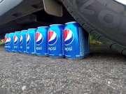 满足你的好奇心 看看汽车和可乐谁能赢