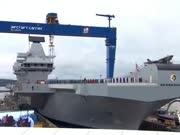 """唯一的双舰桥航母:英国海军""""伊丽莎白女王级""""航空母舰"""