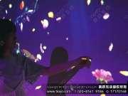 01-绽放魅力-触摸屏创意互动墙艺术装置外场互动跳跃互动鲜花瓣