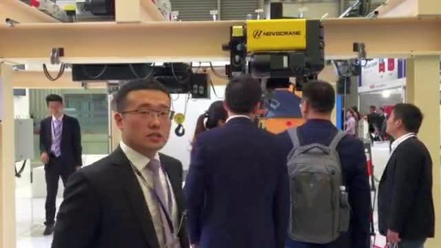 CeMAT2017:访诺威副总经理 接峰先生 介绍本次CeMAT展会诺威带来的几款重磅产品