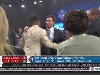 NFL选秀大会第11顺位 弗农-哈格里夫斯 (海盗)