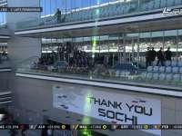 F1俄罗斯站正赛 普京与伯尼并肩看台观战