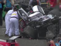 勒芒24H耐力赛史上5大撞车 韦伯飞天并非最严重事故