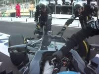 F1欧洲站正赛集锦:罗斯伯格成巴库街道赛首位冠军