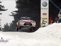 WRC瑞典站遭遇反季节气候 赛场状况不断