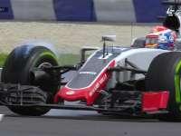 F1奥地利站FP2:格罗斯让严重锁死放白烟