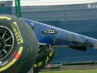 (回放)F1英国站FP3:埃里克森赛车支离破碎