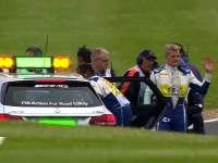F1英国站FP3集锦:埃里克森大撞车 法拉利变速箱又挂了!