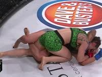 格斗赛Bellator159 艾米丽VS布鲁娜