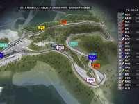 F1比利时站FP1全场回顾(GPS追踪)