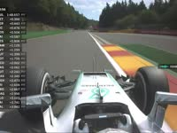 F1比利时站FP2:汉密尔顿报告轮胎状况