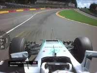 F1比利时站FP2全场回顾(车载)