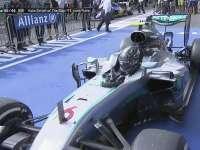F1比利时站正赛:罗斯伯格TR感谢帕迪-洛维