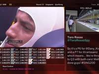 F1新加坡站排位赛(维修站)全场回放