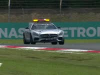 F1马来西亚站车手巡游:安全车的巡场单圈