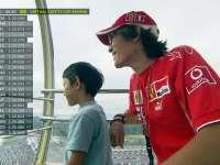 F1日本站FP2:车迷父子摩天轮上看比赛