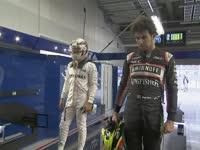 失了多少水?F1日本站排位赛:排排站称重啦