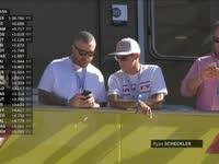 F1美国站FP3:滑板手Ryan Sheckler奥斯丁观赛