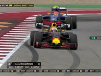 F1美国站正赛:里卡多选择三停策略?