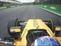 F1巴西站排位赛Q2:帕默尔连续锁死轮胎