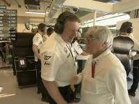 F1阿布扎比站FP1 伯尼面见扎克·布朗