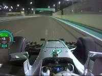 F1阿布扎比站排位赛杆位圈回放