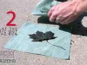 创意科学实验:对太阳敏感的布料