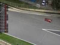 法拉利赛车二练又遇麻烦 维特尔仪表盘黑屏推回维修站