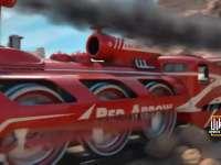 铁胆火车侠都弱爆了!他们把火车当成F1来开