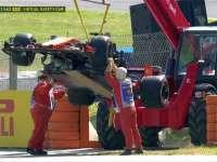 赛车再次出现故障 头哥主场作战遭遇不顺