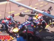 F1史上最失败的进站集锦,看到第五个笑哭了