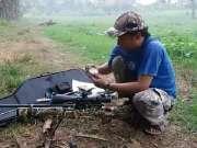 PCP气步枪的调校,精准的射击效果