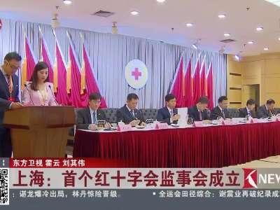 [视频]上海:首个红十字会监事会成立