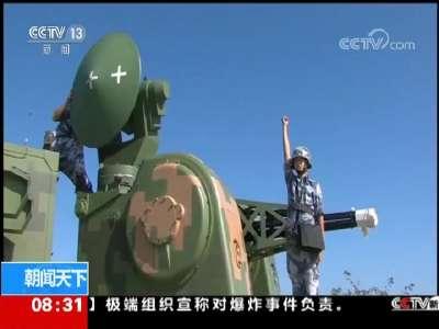 [视频]海军:防空旅展开防空实弹射击演练