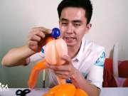 魔术气球制作造型入门学习教程尼克