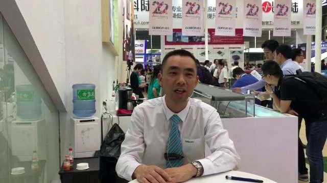 CeMAT2017:访浙江德马工业设备有限公司副总经理金春晖先生