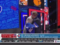 NFL选秀大会第19顺位 沙克-劳森 (比尔)