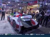黎明时刻!勒芒24小时耐力赛 丰田5号赛车进站