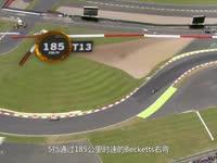 F1银石赛道航拍介绍:多高速弯的经典赛道