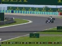 F1匈牙利站正赛:罗斯伯格二停换上软胎